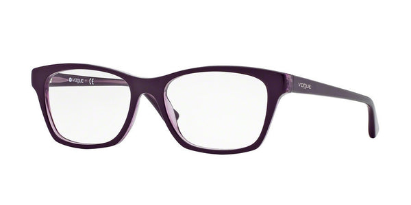 Vogue VO2714 1887 TOP DARK VIOLET/VIOLET TRANSP Specs at Home