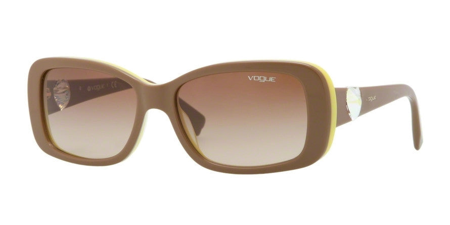 Vogue VO2791SB 206713 TOP LIGHT BRONW/YELLOW Specs at Home