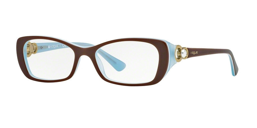 Vogue VO2808H 2011 TOP LIGHT BROWN/OPAL AZURE Specs at Home