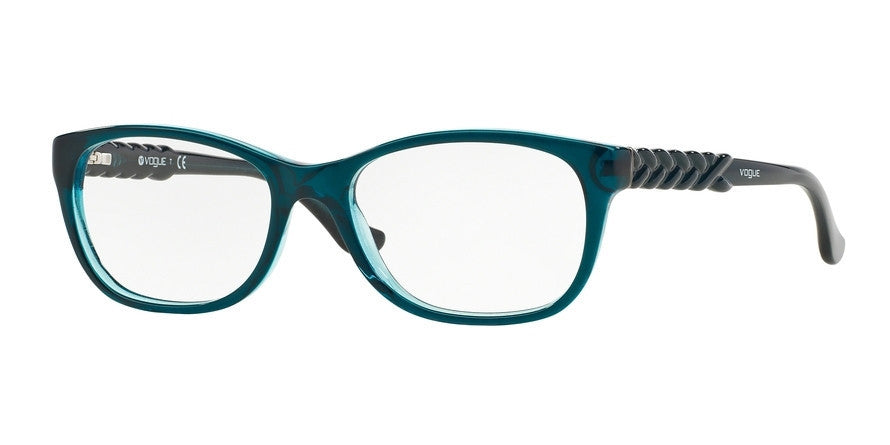 Vogue VO2911 2260 PETROLEUM GREEN/GLITTER GREEN Specs at Home