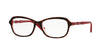 Vogue VO2999B 2343 TOP DARK HAVANA/PINK CRYSTAL Specs at Home