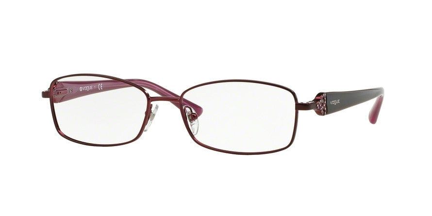 Vogue VO3845B 717S MATTE BORDEAUX Specs at Home