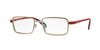 Vogue VO3943 323S MATTE BRUSHED SILVER Specs at Home