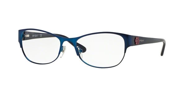 Vogue VO3973 964S MATTE BRUSHED BLUE Specs at Home