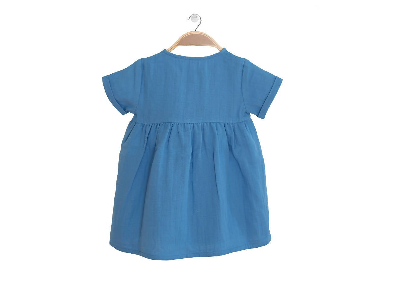 Peter Jo Kids Organic Dress Harmony for baby girls made of organic muslin cotton 1