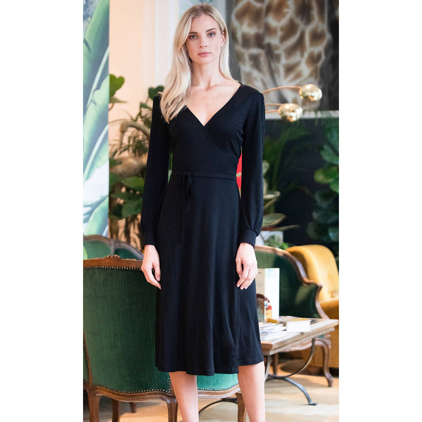 AVANI APPAREL – Dress Nénuphar black