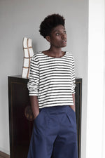Load image into Gallery viewer, #041 Gabardine trousers - navy