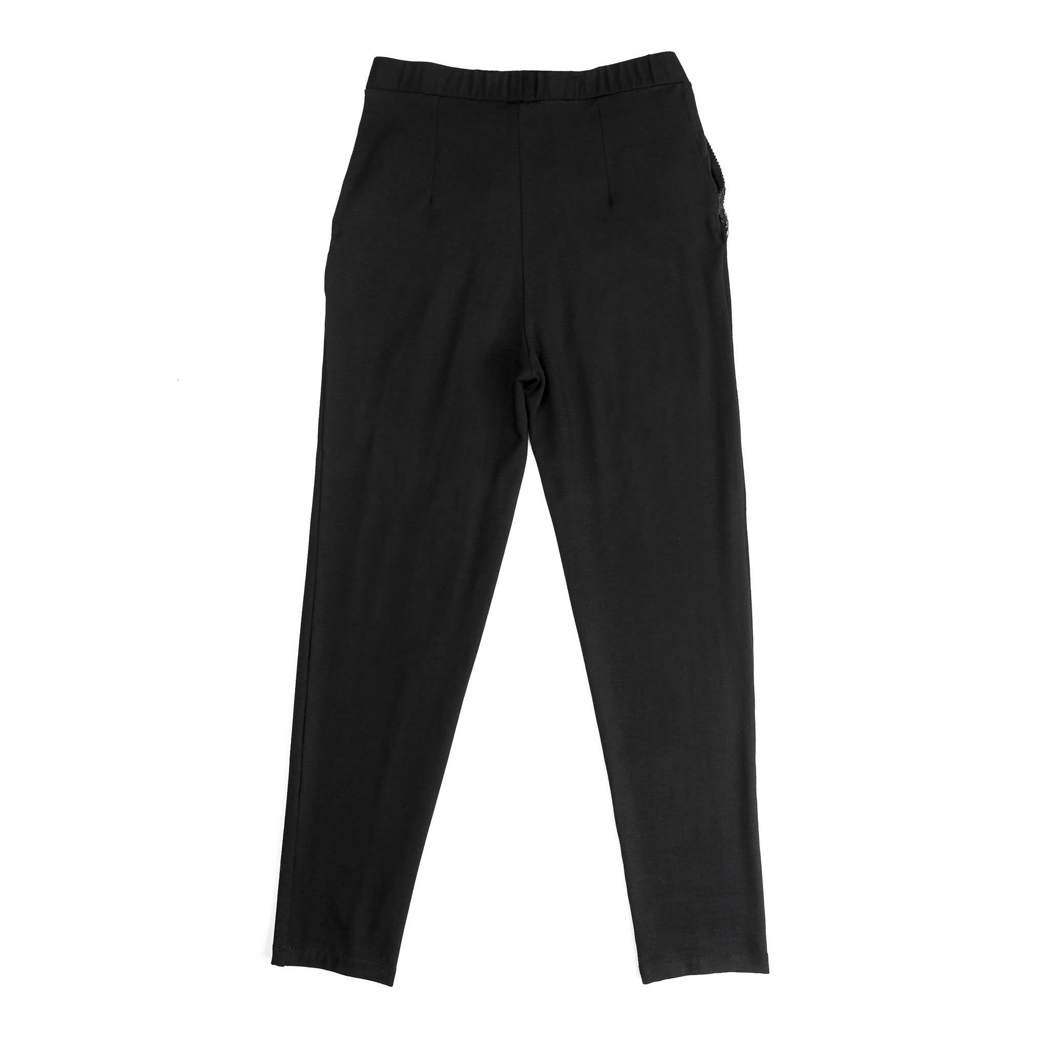 Bamboo fabric back comfortable pants eco fashion sustainable