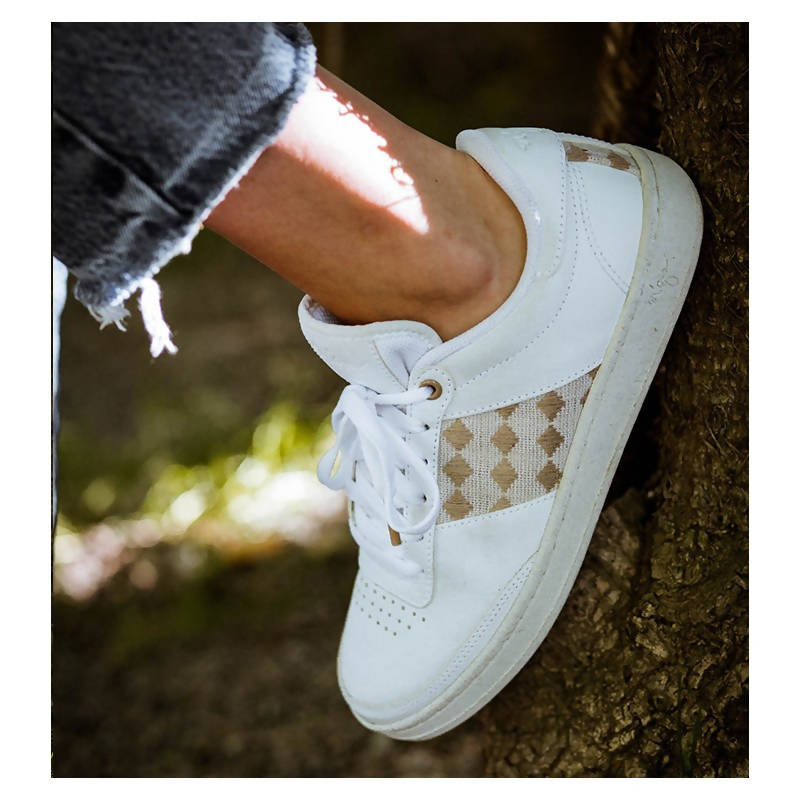 Recycled Sneakers Quang Ba - White