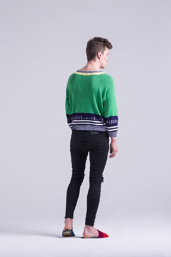 The Harriers Jumper - Green