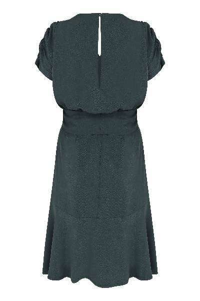 URBANTESS GREEN TENCEL DRESS