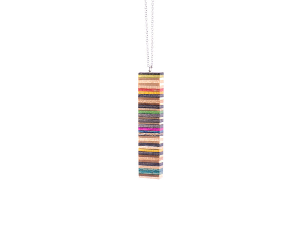 Bar Pendant Made from Recycled Skateboards