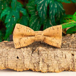 Load image into Gallery viewer, Cork bow tie JACO