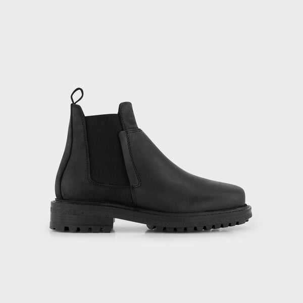 Eco-leather Chelsea Boots BOTTO NUBWAXY - Black
