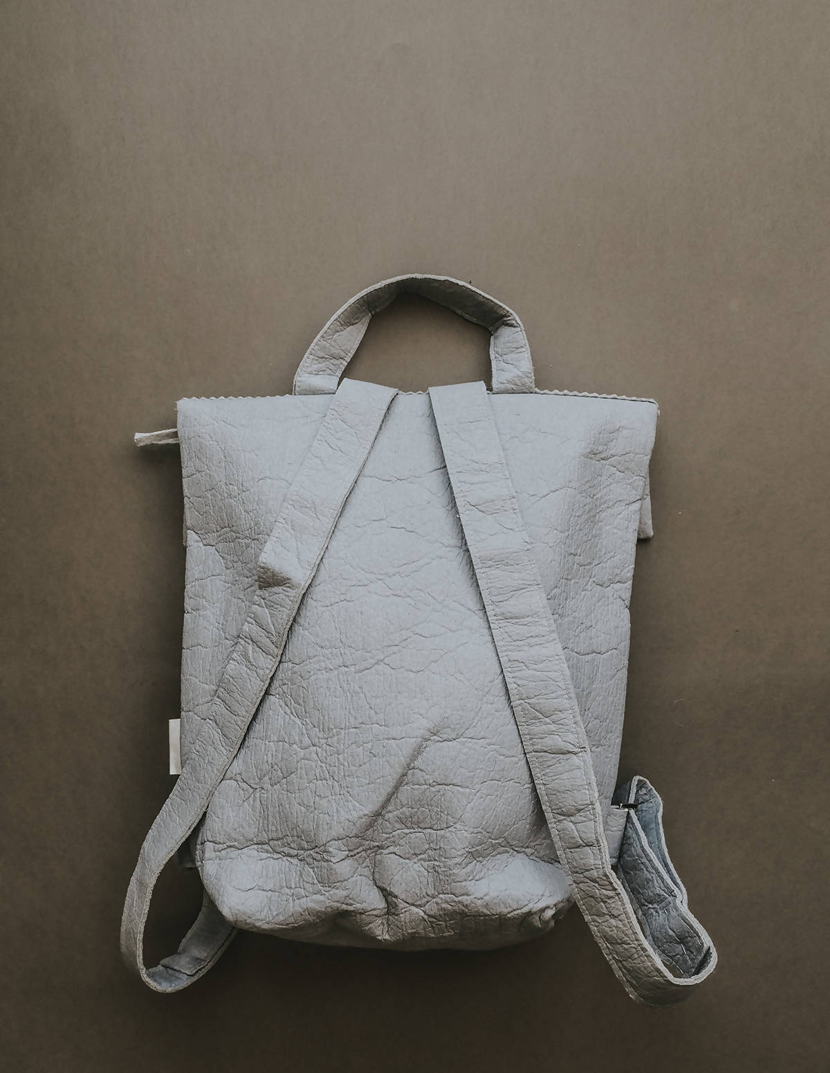 Vegan Backpack PIÑATEX® - Pebble Grey