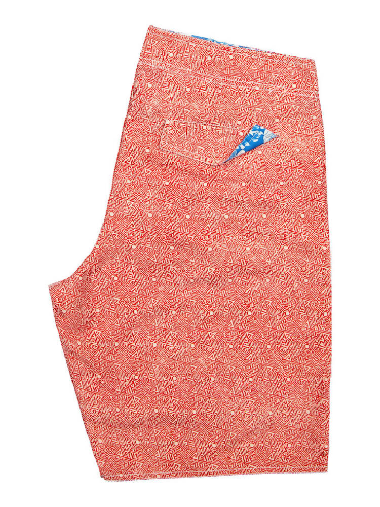 PANAREHA Recycled Boardshorts RAILAY Red