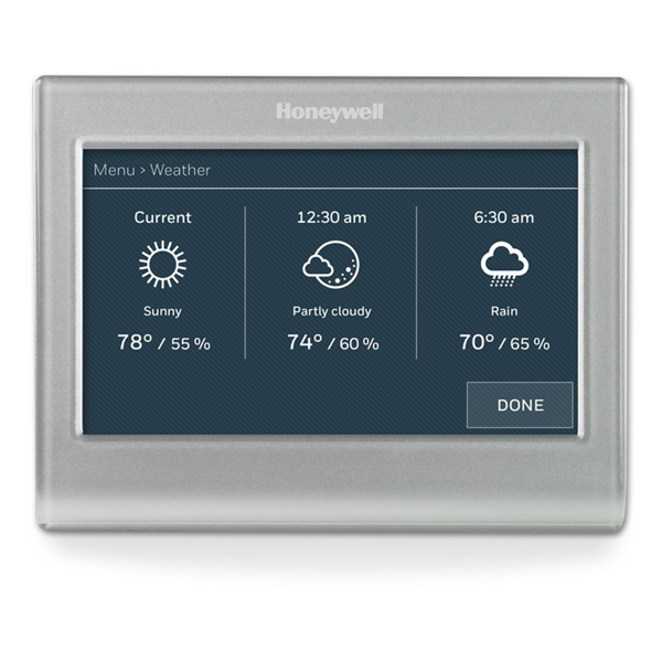 Honeywell WiFi Color Touchscreen Programmable Thermostat image 12760635605090