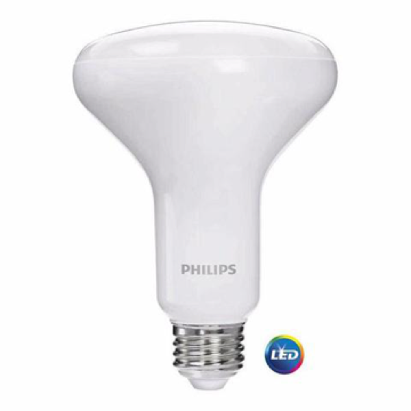 Philips 65-Watt Equivalent Warm/Soft White BR-30 LED (6-Pack) image 23693040268
