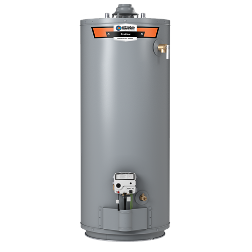 PROLINE® 40-GALLON GAS SHORT WATER HEATER with Installation