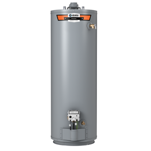 PROLINE® 50-GALLON GAS TALL WATER HEATER with installation