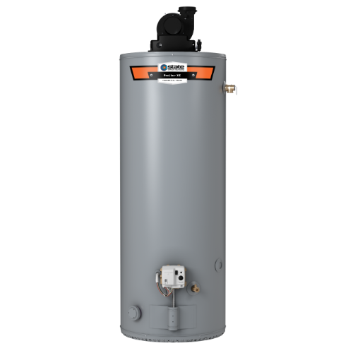 PROLINE® 50-GAL SHORT XE POWER VENT GAS WATER HEATER -- INCLUDES INSTALLATION