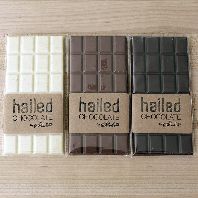 Hailed Chocolate Bars