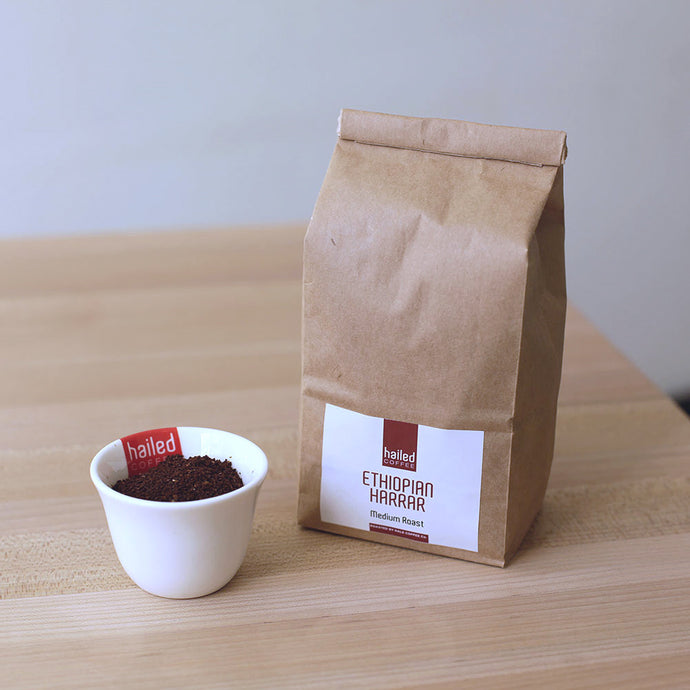 Medium Roast Coffee (340g) - Ethiopian Harrar