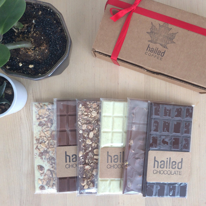 Hailed Chocolate Bar Gift Box