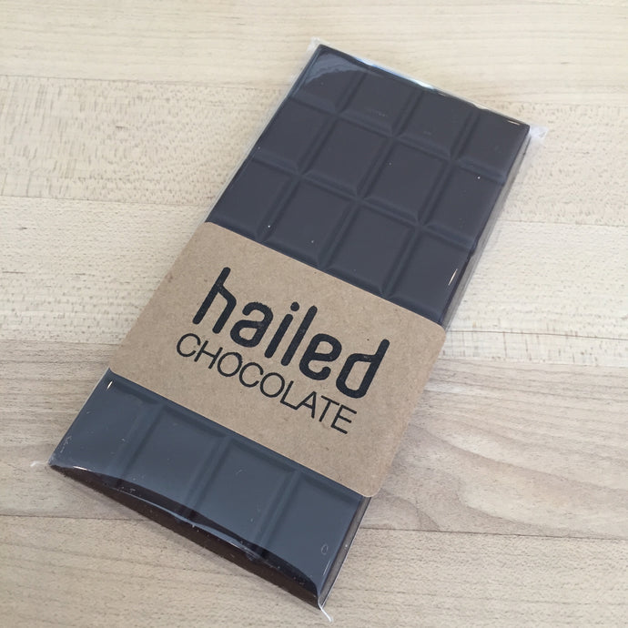 Hailed Pure Dark Chocolate Bar