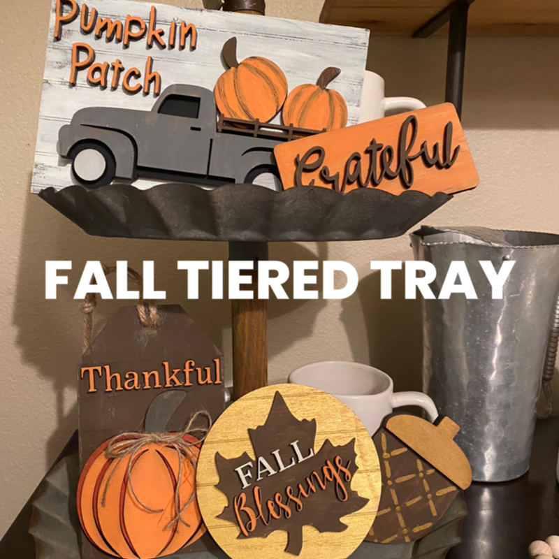 Fall Tier Tray minis
