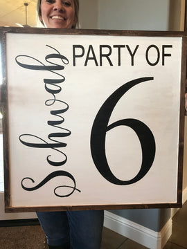 Party of...