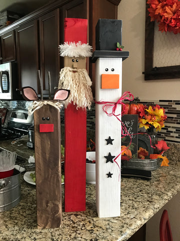 Christmas trio-tall