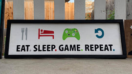Eat. Sleep. Game. Repeat