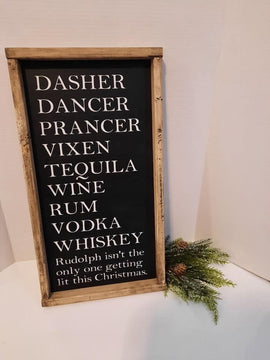 Dasher, Dancer, Prancer- Wine