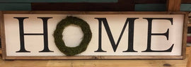 Home FARMHOUSE sign