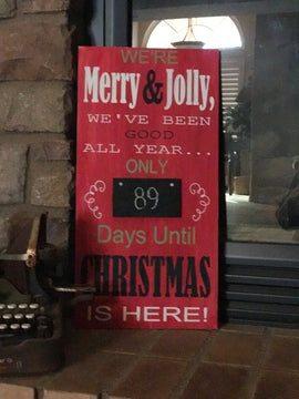 Merry and Jolly countdown