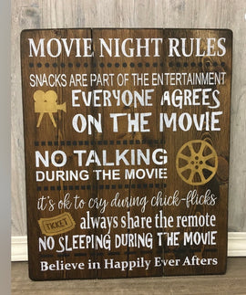 Movie night rules