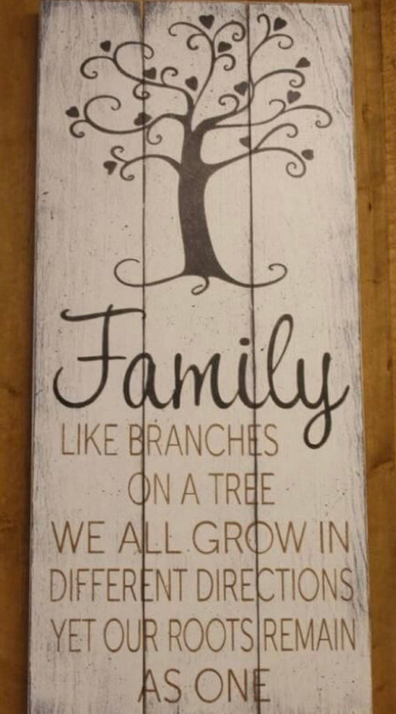 Family- like branches