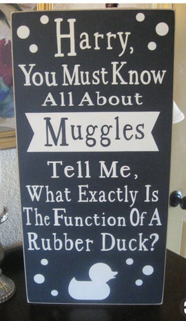 What is the function of a rubber duck