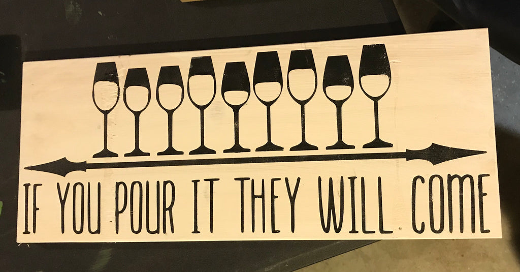 Pour it and they will come