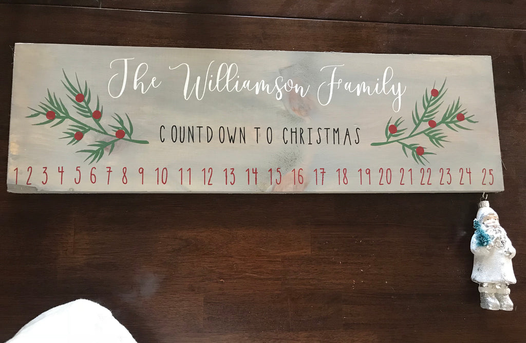 Family Christmas Countdown