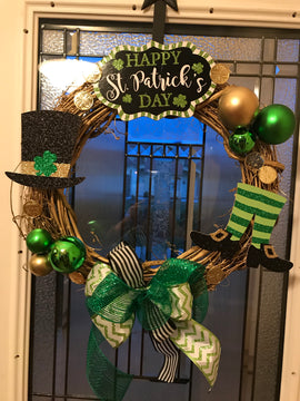 St. Patrick's Wreath