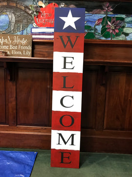 Patriotic Welcome