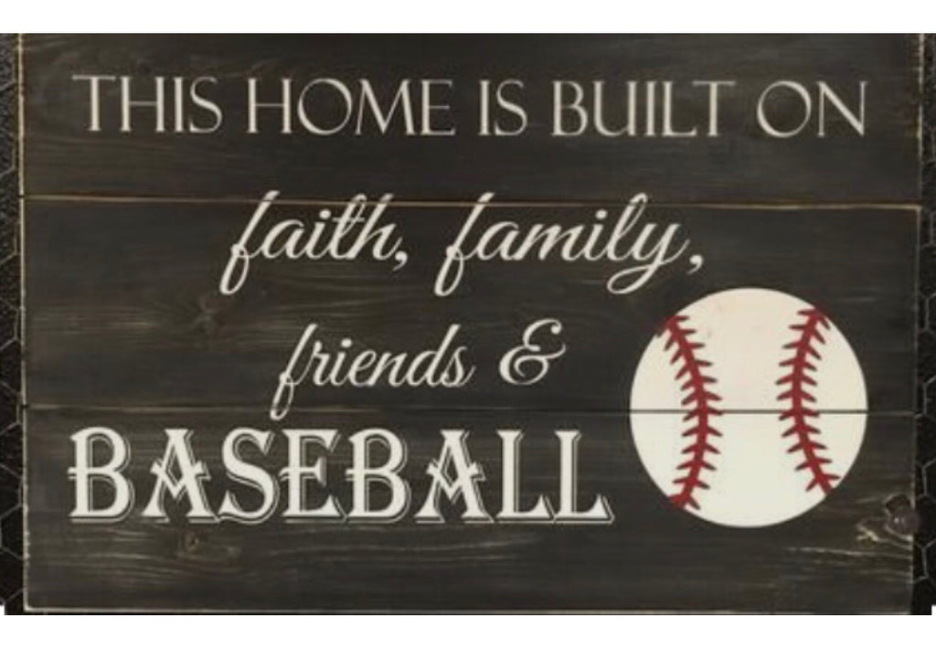 Faith, family, friends and baseball