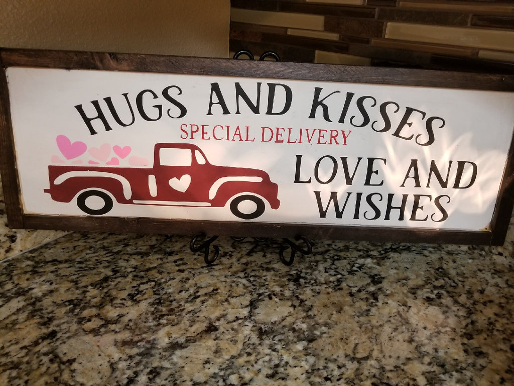 Hugs and Kisses Special Delivery