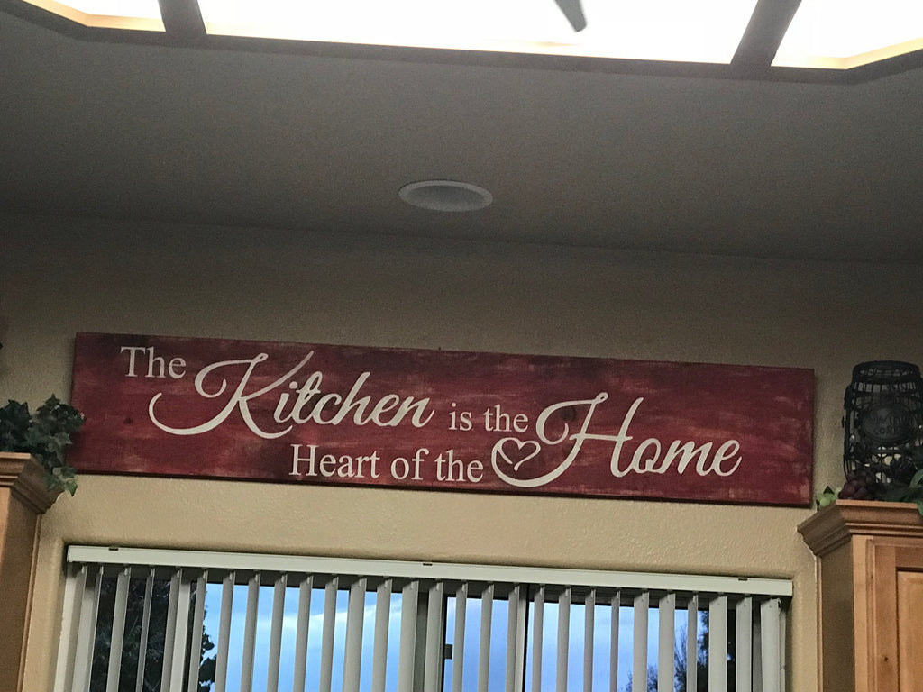 The kitchen is the heart of the home 5'