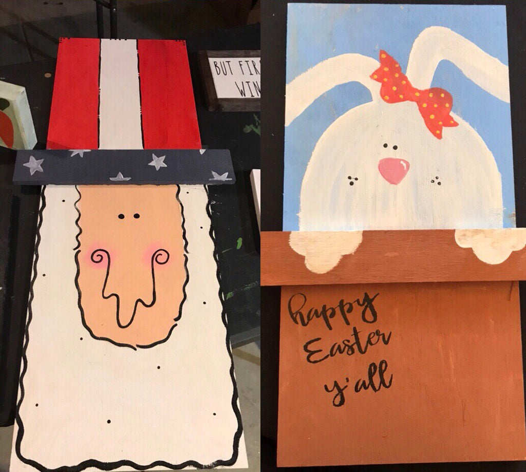 Easter Bunny/Uncle Sam