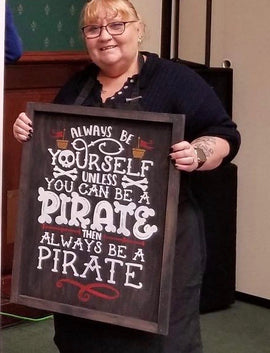 Always be yourself/ pirate