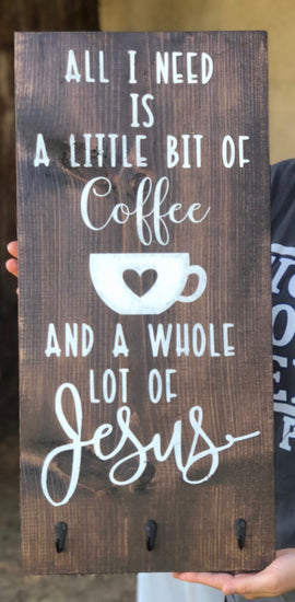 All I need is...Coffee and Jesus