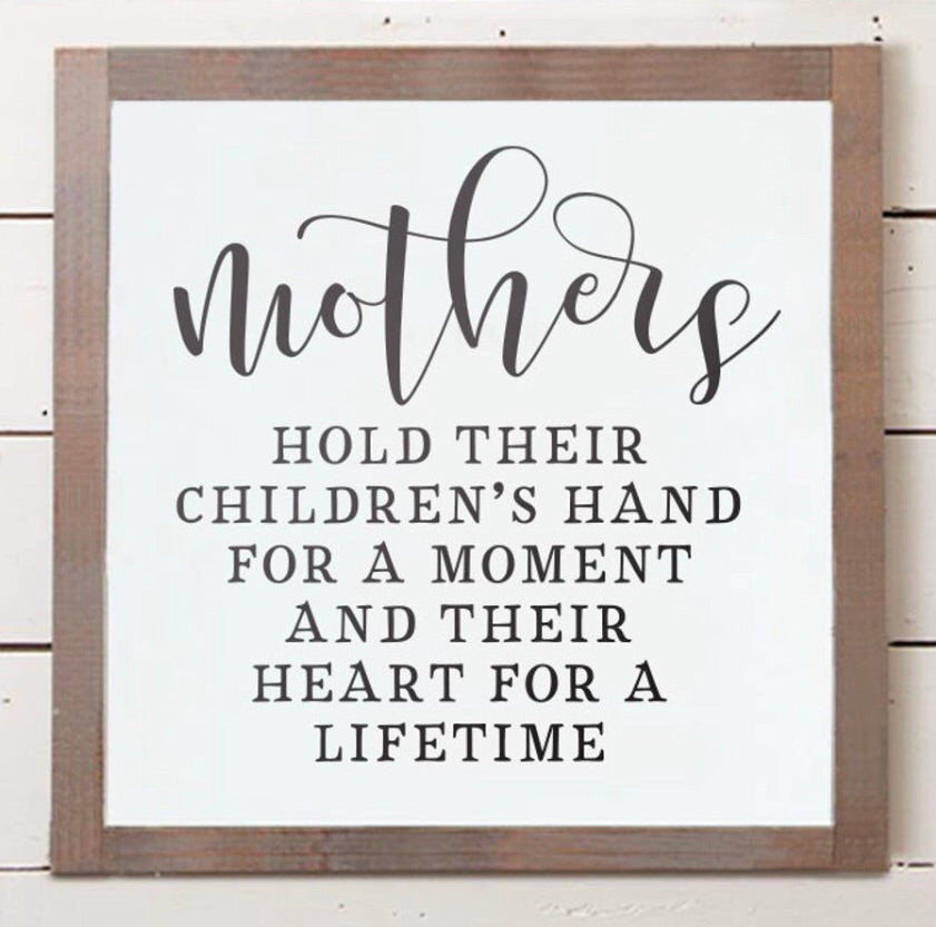 Mother's hold